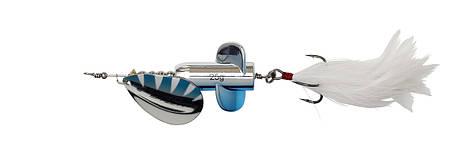 Блешня DAM Effzett Rattlin' Spinner 18 м 11 см Silver/Blue, фото 2