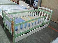 """Ліжко одноярусне """"Каріна Люкс"""" з ящиками"""