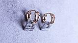Стильні сережки фірми Xuping (Сережки color 82), фото 3