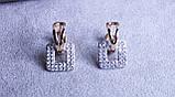 Стильні сережки фірми Xuping (Сережки color 82), фото 2