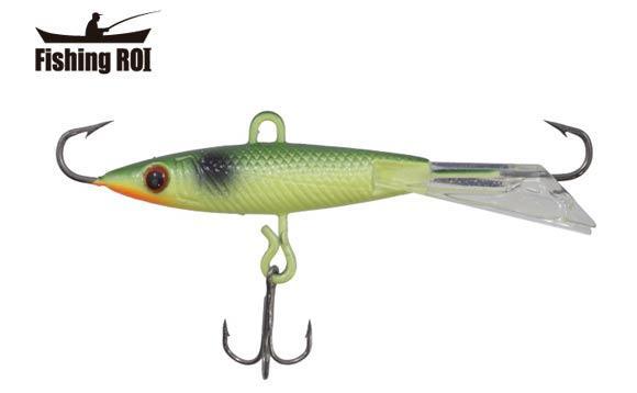 Балансир Fishing ROI 35 мм 8 г Оливковый