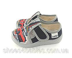 Тапочки для мальчика р. 24-30 ТМ Waldi модель Гриша гонка