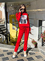 Классный и удобный женский костюмчик  худи+штаны, фото 1