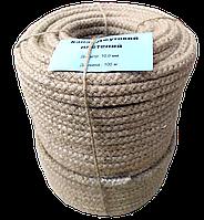 Шнур джутовий плетений Ø 10,0 мм, фото 1