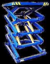 Гидравлический ножничный лифт 1т. Платформа 2х1,5м.Подъем 5м.