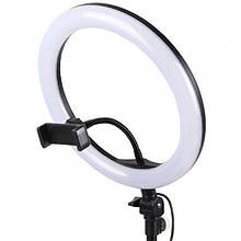 Лампа кольцевая селфи-лампа диаметр 32 см разные цвета с пультом Led кольцо YQ320