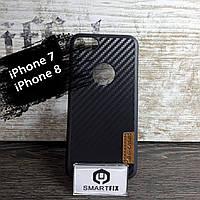 Карбоновый чехол для iPhone 7 / iPhone 8 Черный, фото 1