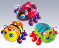 Игрушка для детей «Жучки» Жук 82721 микс видов. Музыкальные, световые эффекты. Т