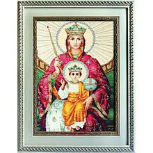 Набори для вишивання хрестом Luca S Релігія Ікона Божої Матері Державна