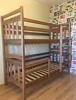 """Ліжко двоярусне """"Колобок"""", з ящиками, фото 1"""