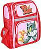Ортопедический каркасный рюкзак для девочек Tom and Jerry