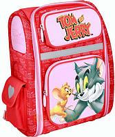 Ортопедический каркасный рюкзак для девочек Tom and Jerry, фото 1