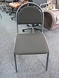 Стілець офісний для персоналу Seven black, фото 2