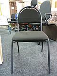 Стул офисный для персонала Seven black, фото 3