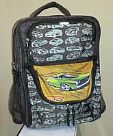 Ортопедический рюкзак Hot Wheels Green для начальных классов, фото 1