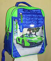 Ортопедический рюкзак Bagland Green Car, фото 1
