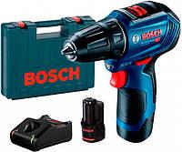 Аккумуляторный бесщеточный шуруповерт Bosch GSR 12V-30 (12 В, 2 А/год) (06019G9000)