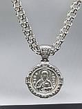 Серебряная цепочка с иконкой, фото 4