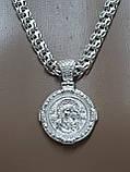 Серебряная цепочка с иконкой, фото 7