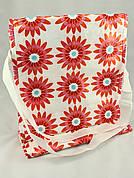 LAUSVIK Сумка через плечо, белый/цветы, 802417032 ИКЕА, IKEA, LAUSVIK