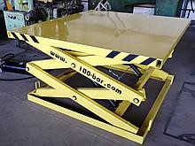 Гидравлический ножничный лифт 0,5т. Платформа 1.5х1,5м.Подъем 1,5м.