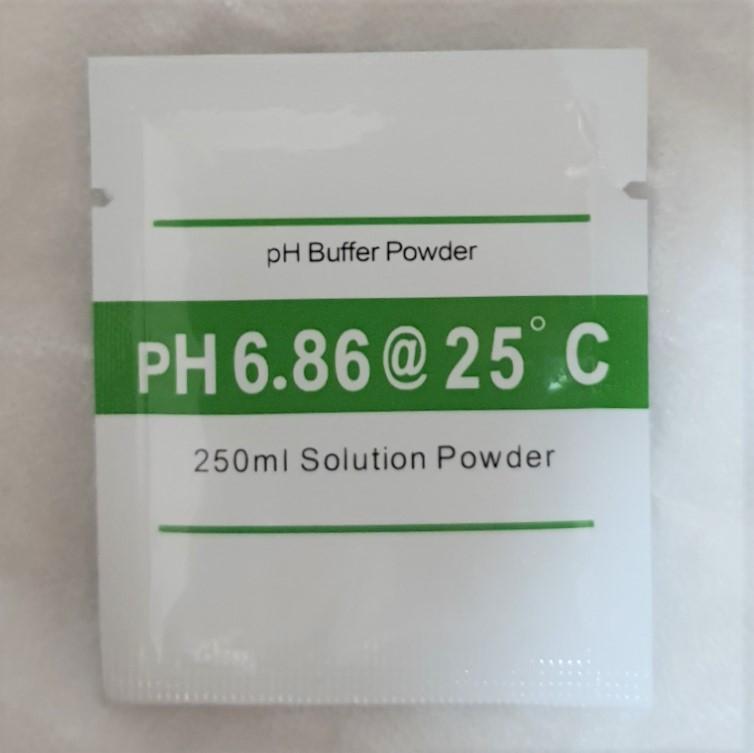 Калибровочный раствор для ph метра - pH 6.86 (на 250 мл воды)