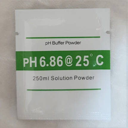 Калибровочный раствор для ph метра - pH 6.86 (на 250 мл воды), фото 2