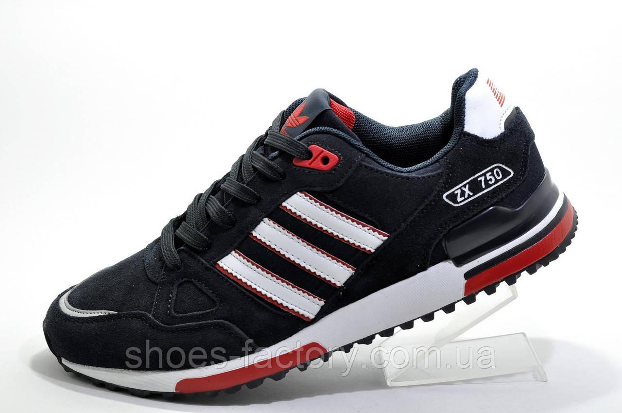 Мужские кроссовки в стиле Adidas ZX750, Dark blue