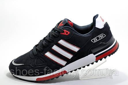 Мужские кроссовки в стиле Adidas ZX750, Dark blue, фото 2