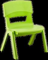 Стул детский со спинкой Jumbo зеленый