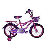 """Детский велосипед для девочек Crosser Kiddy 16"""", фото 2"""