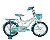 """Детский велосипед для девочек Crosser Kiddy 16"""", фото 3"""