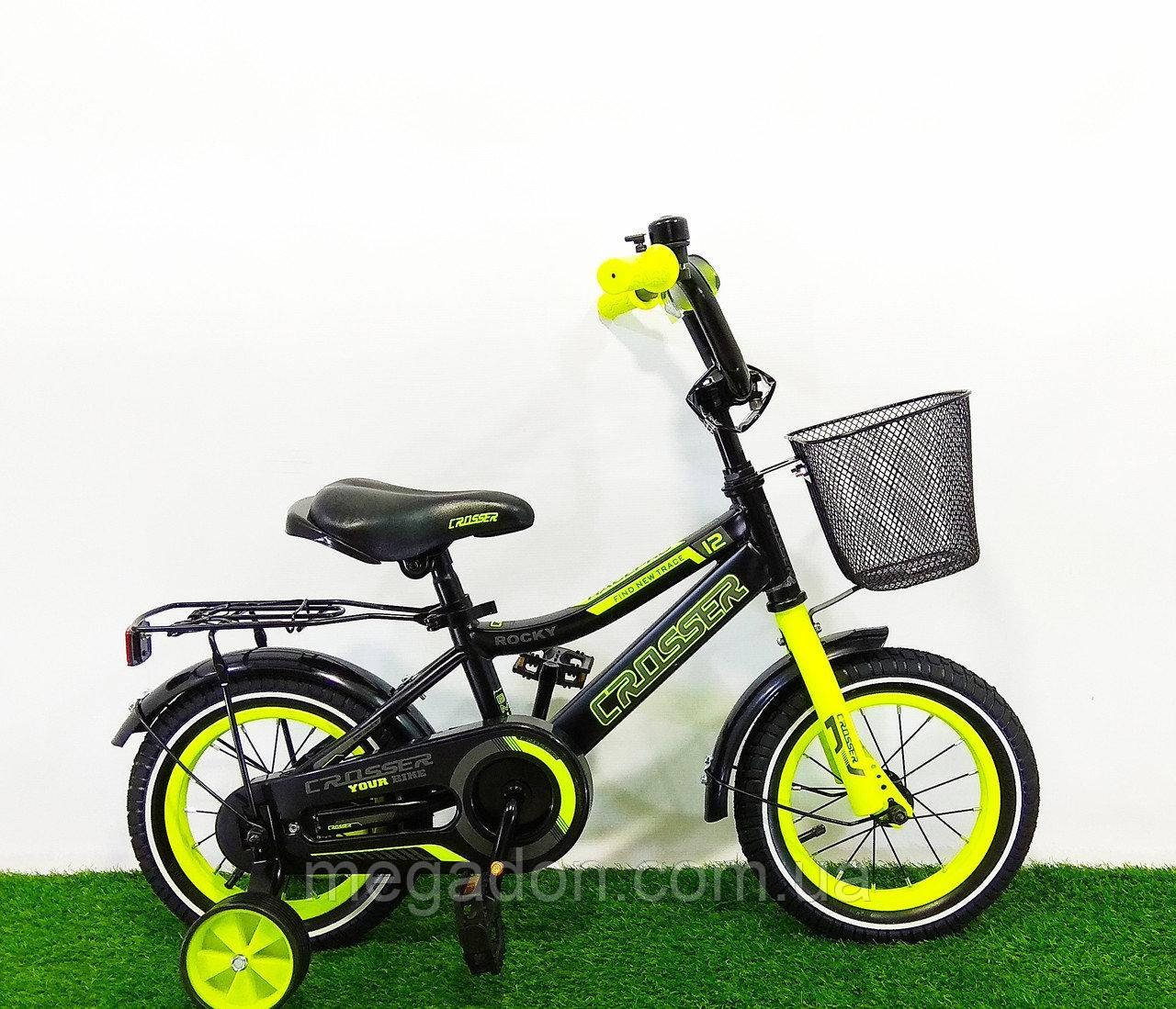"Дитячий велосипед Crosser Rocky 14"""