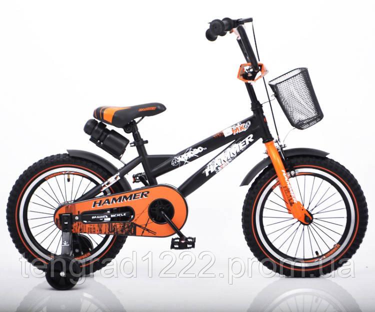 "Дитячий велосипед Hammer 16"""
