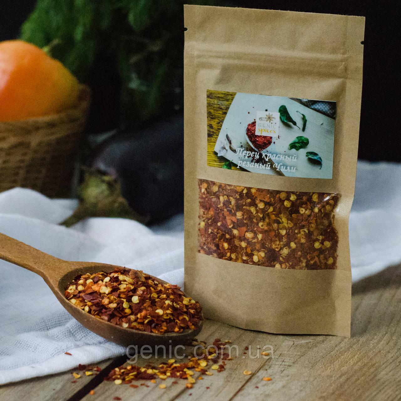 Перец Красный резаный (Чили) 50 грамм