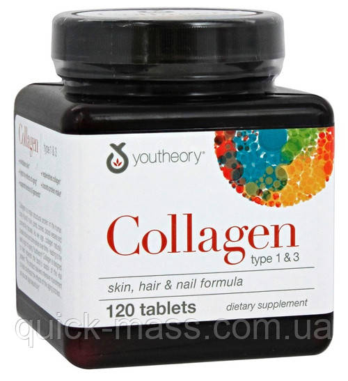 Коллаген Youtheory Collagen 6000 120tab