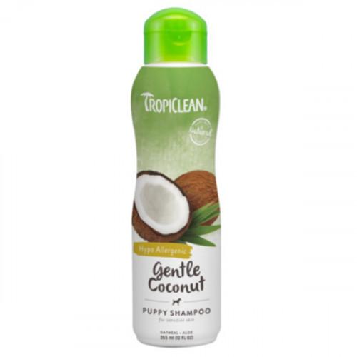 """Шампунь TropiClean Gentle Coconut Pet """"Нежный кокос"""" для котят и щенков, 355 мл"""