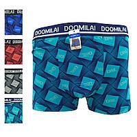 Мужские трусы боксёры хлопок+бамбук Doomilai 01324 (ростовка XL-2XL-3XL-4Xl), 20024505, фото 1