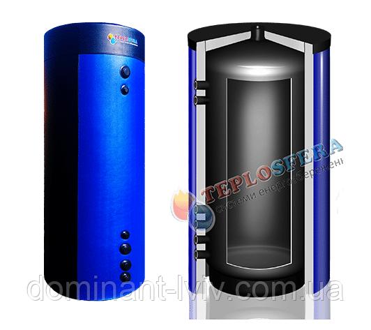 Теплоакумулятор Teplosfera АЄ-Е 2000 літрів без утеплення, теплоаккумулятор, буферная емкость