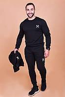 Спортивный мужской костюм тройка 60640, фото 1