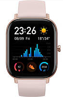 Женские смарт часы Amazfit GTS Obsidian Pink