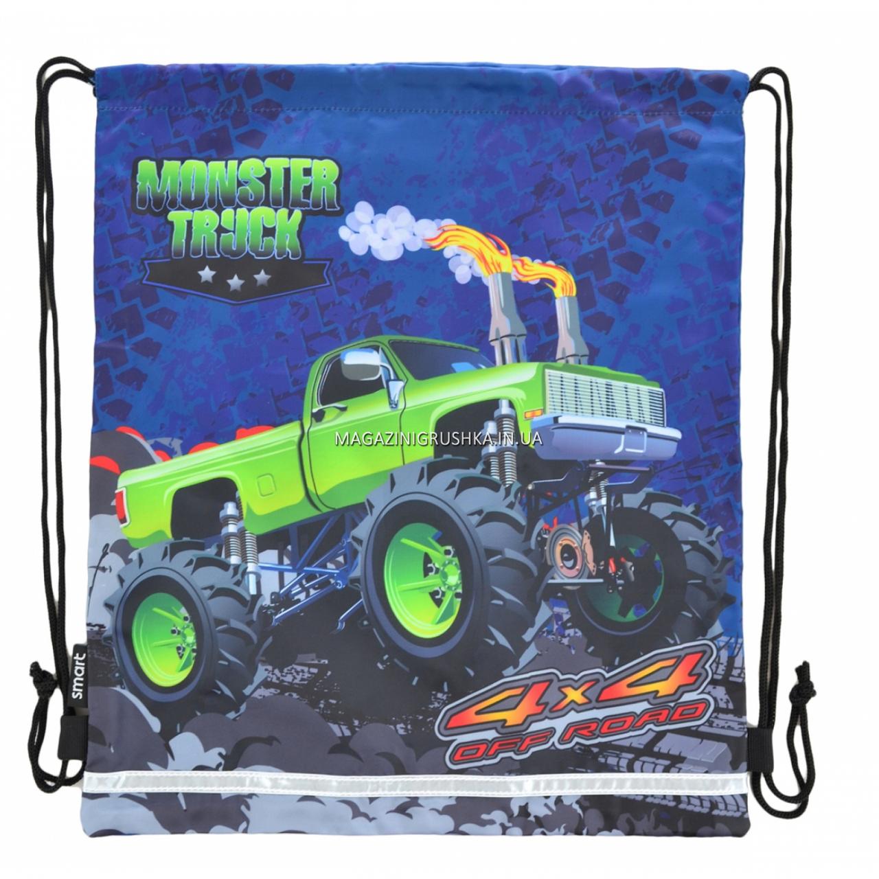 Сумка для обуви Smart Monster truck Синий (555244)