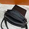 Шкіряна сумка Armani, фото 8