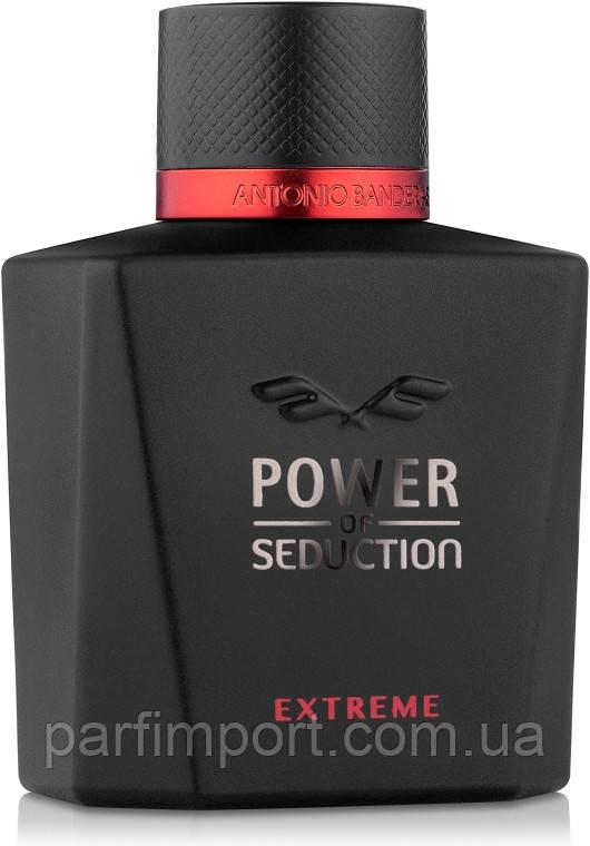 Antonio Banderas Power of Seduction Extreme EDT 100 ml TESTER  (оригинал подлинник  )