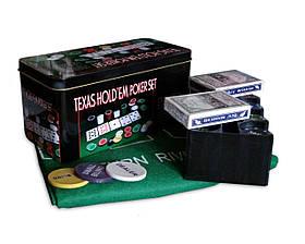 Покерний набір, 200 фішок, Покерный набор