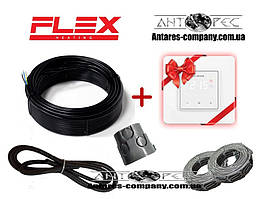 Тепла підлога двожильний нагрівальний кабель Flex ( 2 м. кв ) 350 вт Серія Terneo S