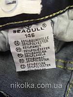 Джинсовые брюки для девочек оптом, Seagull, 134-164 рр., Арт. CSQ-89875, фото 3