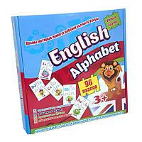 Пазлы Strateg English alphabet на английском SKL11-237714 детская развивающая настольная игра, игрушка для малыша