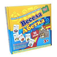 Пазлы Strateg Весела абетка SKL11-237715 детская развивающая настольная игра, игрушка для малыша