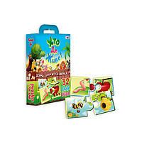 Пазлы Strateg Хто де живе на украинском SKL11-237706 детская развивающая настольная игра, игрушка для малыша